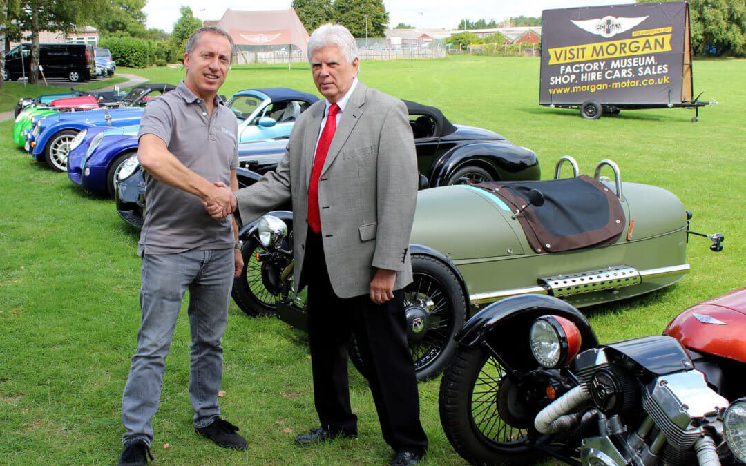AMCO SERVICES INTERNATIONAL AWARDED DEALERSHIP DELIVERY CONTRACT WITH MORGAN CARS
